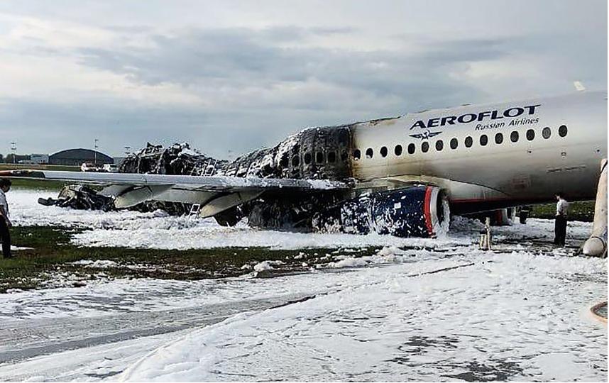Трагедия произошла в аэропорту Шереметьево 5 мая. Фото AFP