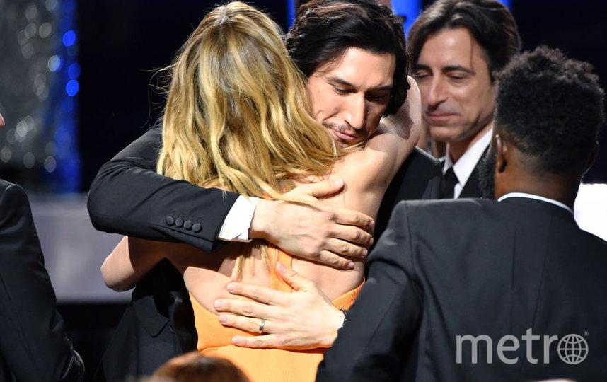 Critics' Choice Awards-2020. Адам Драйвер и Лора Дерн. Фото Getty