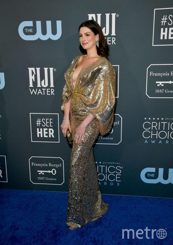 Critics' Choice Awards-2020. Энн Хатауэй. Фото Getty