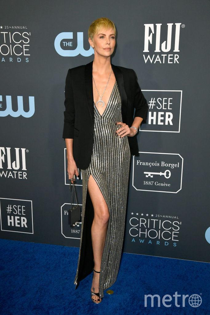 Critics' Choice Awards-2020. Шарлиз Терон. Фото Getty