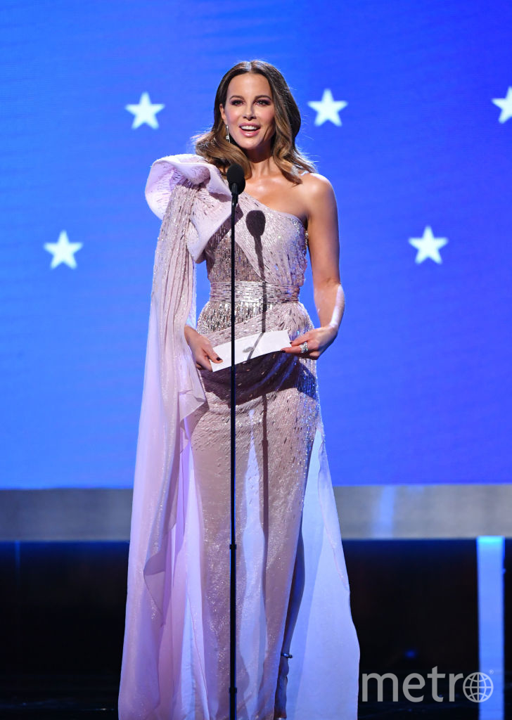 Critics' Choice Awards-2020. Кейт Бекинсейл. Фото Getty