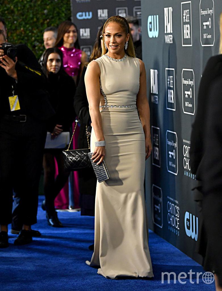 Critics' Choice Awards-2020. Дженнифер Лопес. Фото Getty