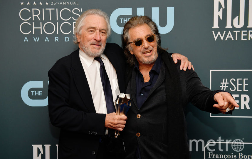 Critics' Choice Awards-2020. Роберт Де Ниро и Аль Пачино. Фото Getty