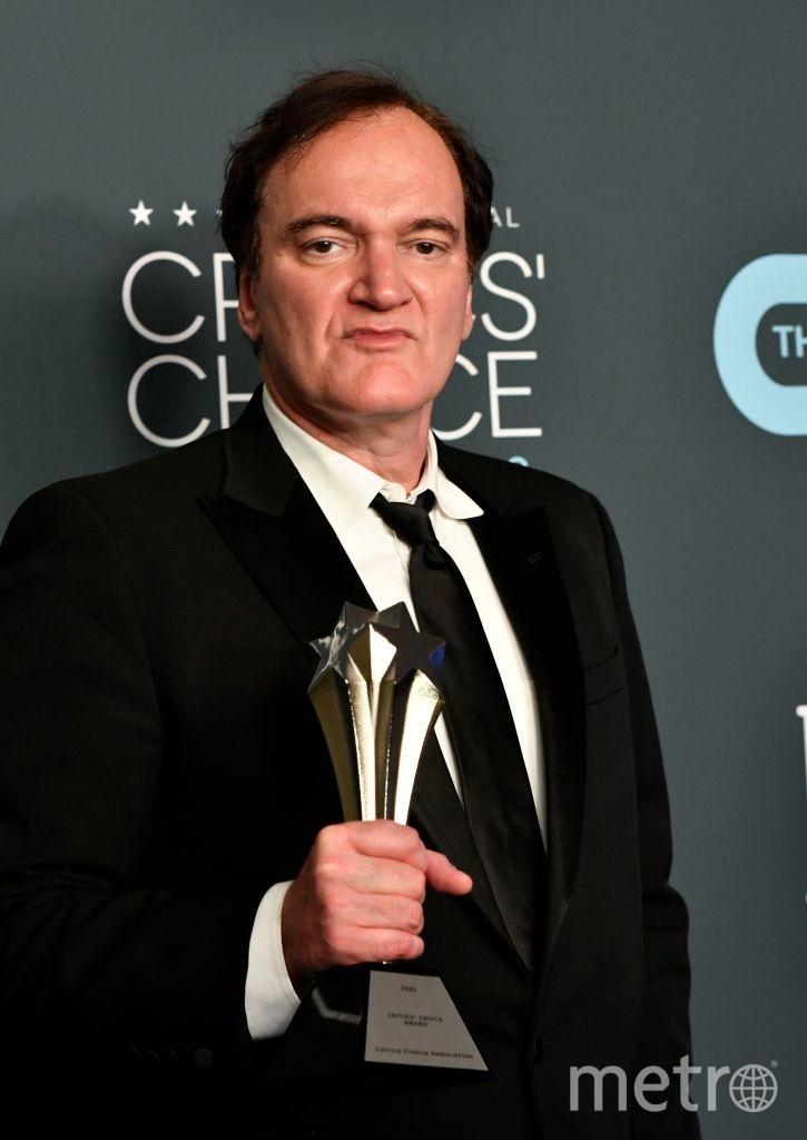 Critics' Choice Awards-2020. Квентин Тарантино. Фото Getty
