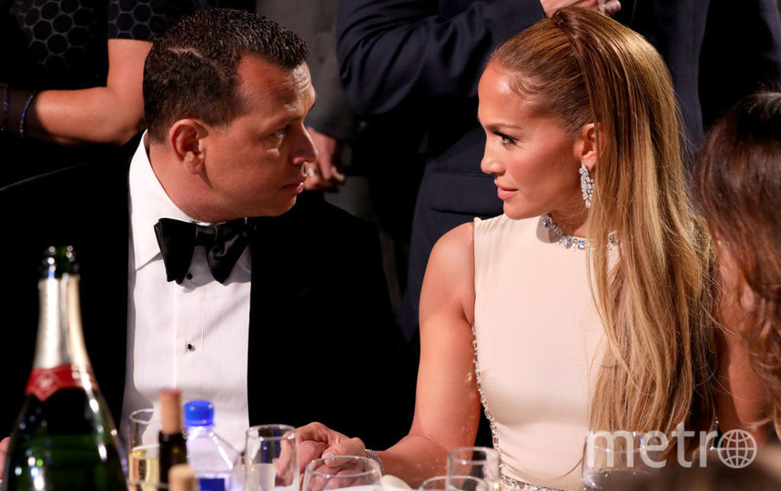 Critics' Choice Awards-2020. Дженнифер Лопес и Алекс Родригес. Фото Getty
