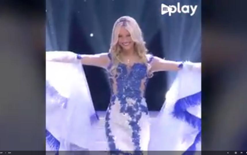 """""""Мисс Бельгия"""" Селин Ван Ойтсел. Фото Скриншот Youtube"""