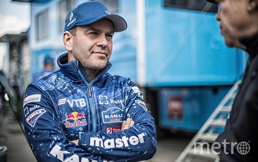 Андрей Каргинов. Фото Скриншот @kamazmastersport