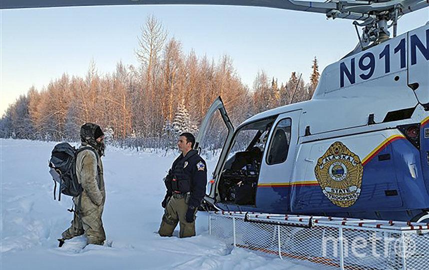 На Аляске спасли мужчину, которому пришлось выживать на морозе в отдалённой местности три недели. Фото AFP
