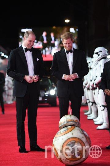 Принц Гарри и принц Уильям. Фото Getty
