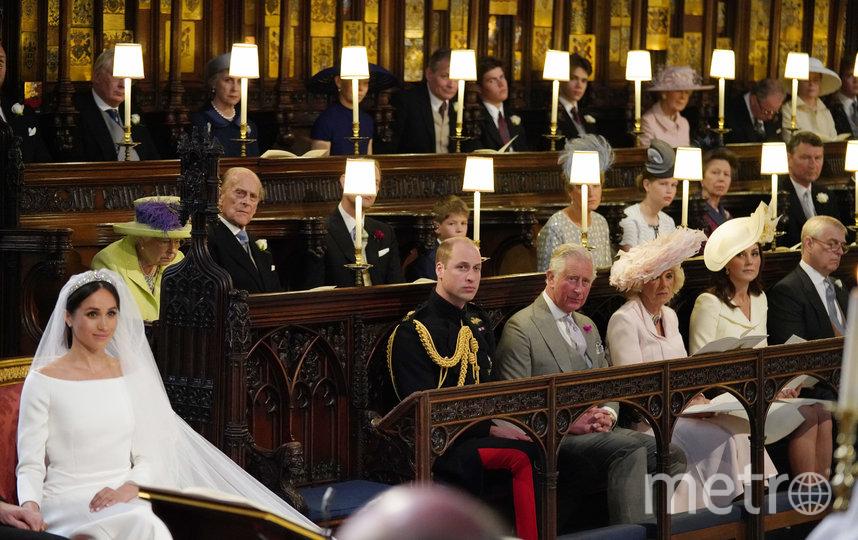 Свадьба Меган Маркл и принца Гарри. Фото Getty