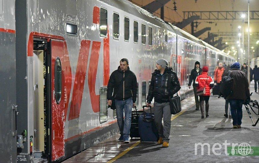 В Москве на Белорусском вокзале изменится нумерация путей. Фото Василий Кузьмичёнок