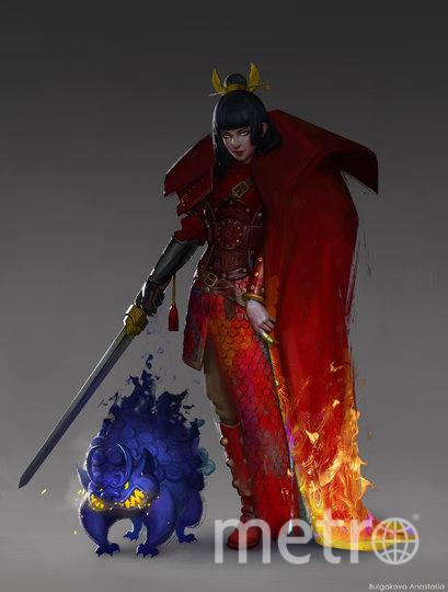 Китай в представлении художницы. Фото Анастасия Булгакова