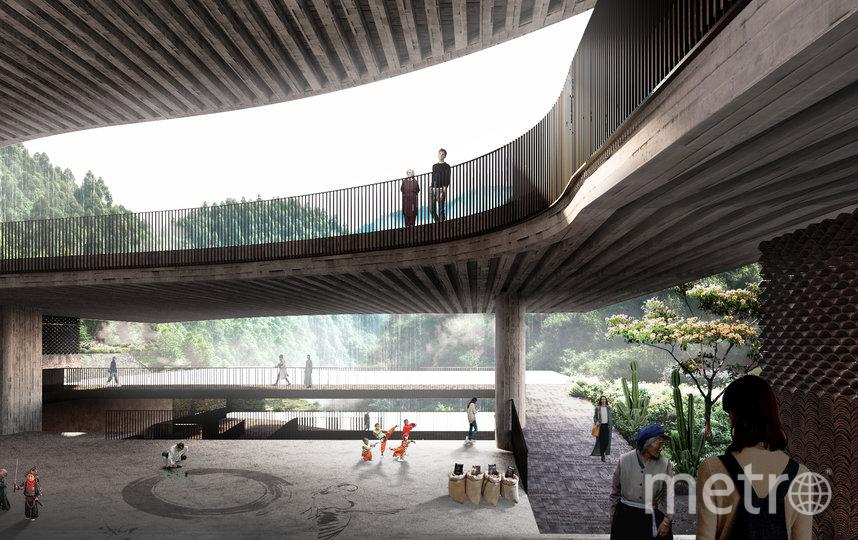 Проектное решение. Фото предоставлено пресс-службой Москомархитектуры