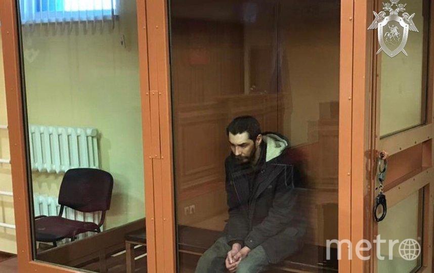 Подозреваемый в убийстве. Фото arh.sledcom.ru