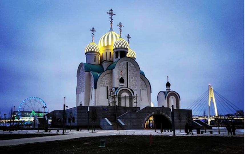 Никольский храм. Фото скриншот instagram.com/alexlupic/