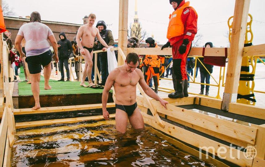Крещение в предыдущие годы в Петербурге всегда было со снегом. Фото Предоставлено организаторами