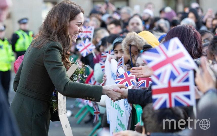 Кейт в Брадфорде. Фото Getty