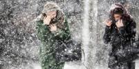 Новосибирцев предупредили о сильном ветре, снегопадах и морозах