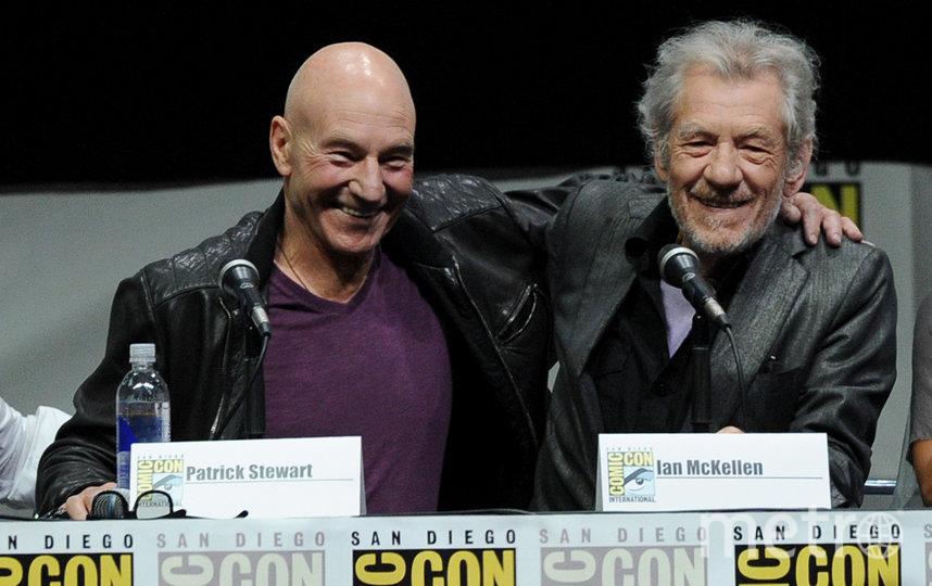 Патрик Стюарт и Иэн Маккеллен являются давними друзьями. 2013 год. Архивное фото. Фото Getty