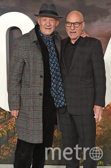 Патрик Стюарт и Иэн Маккеллен являются давними друзьями. Фото Getty