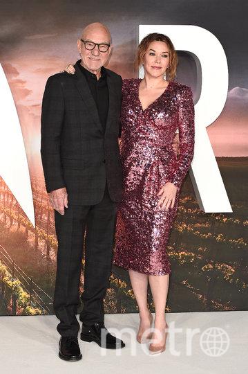 Патрик Стюарт с женой Санни Озелл. Фото Getty
