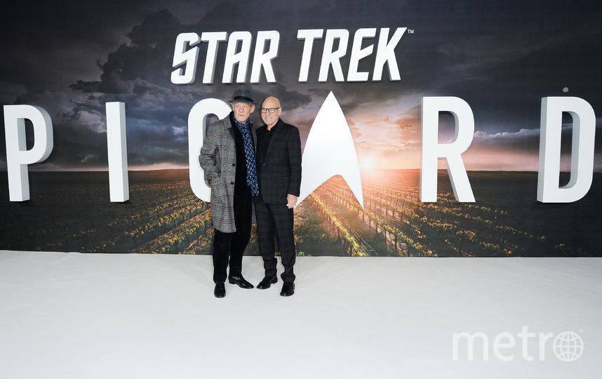 Патрик Стюарт и Иэн Маккелен. Фото Getty