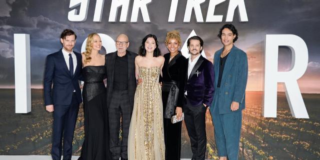 """В лондонском кинотеатре Odeon Luxe Leicester Square состоялась премьера сериала """"Звездный путь: Пикар""""."""