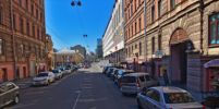 Водителя Infiniti, стрелявшего в центре Петербурга, разыскала полиция