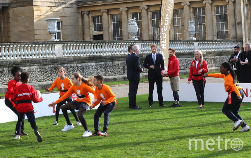Встреча на лужайке у Букингемского дворца. Фото Getty
