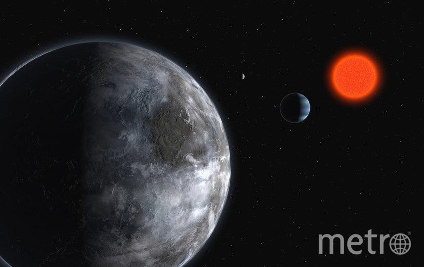 Вращение двух планет вокруг красного карлика в представлении художника. Архивное фото. Фото Getty