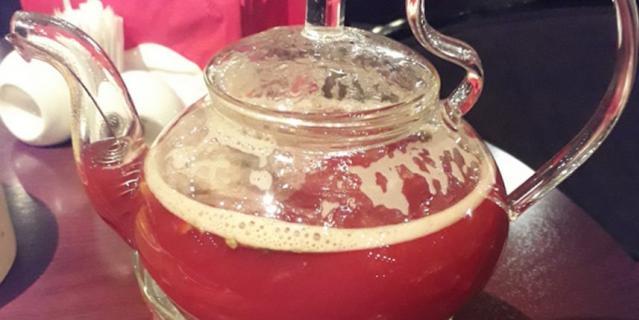 Малиновый чай с шалфеем.