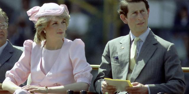 Диана и принц Чарльз.