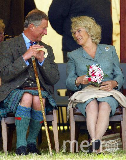 Принц Чарльз и его жена и возлюбленная с 1970 года Камилла. Фото Getty
