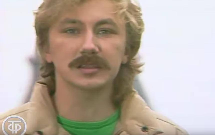 Игорь Николаев в молодости. Фото Скриншот Youtube