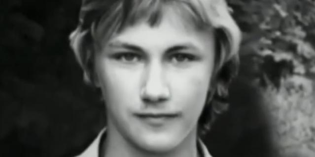 Игорь Николаев в молодости.