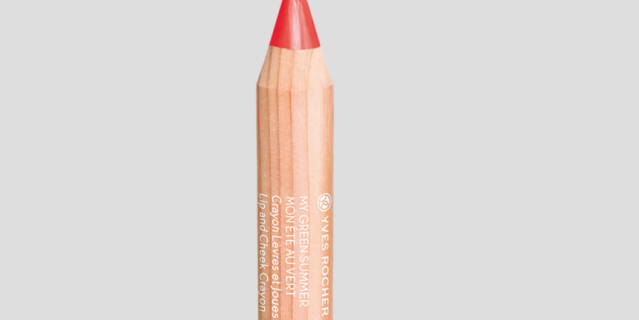 Yves Rocher карандаш для губ и щёк.