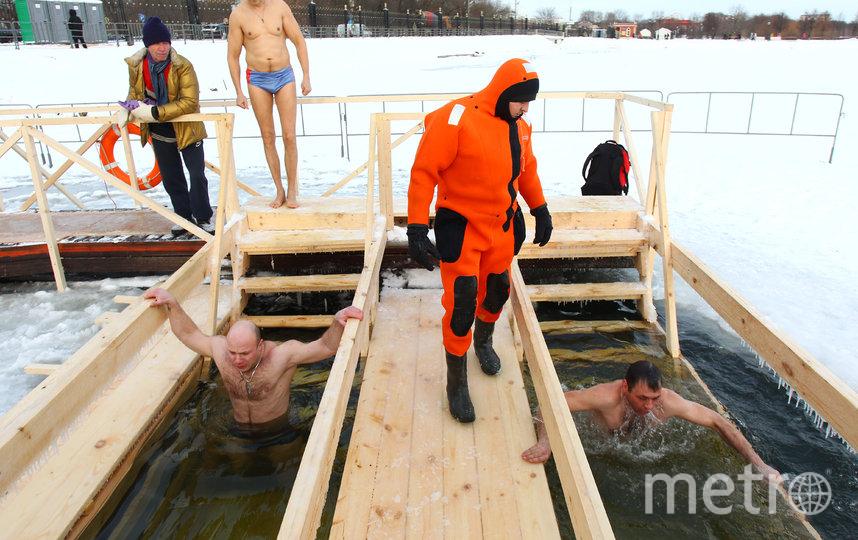 В этом году в столице откроют 46 мест для крещенских купаний. Фото Василий Кузьмичёнок