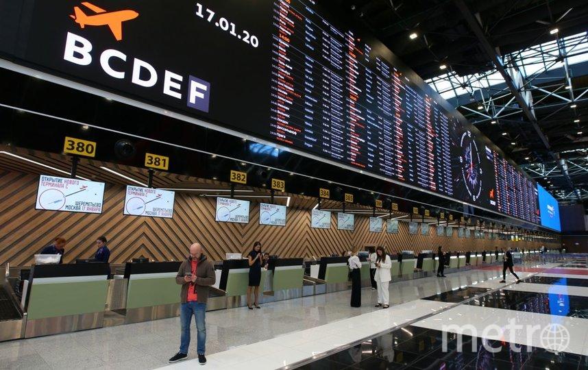 В терминале преобладают чёрные и красные тона. Фото Василий Кузьмичёнок