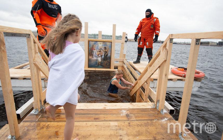 """Как петербуржцы встретили Крещение. Фото Святослав Акимов, """"Metro"""""""