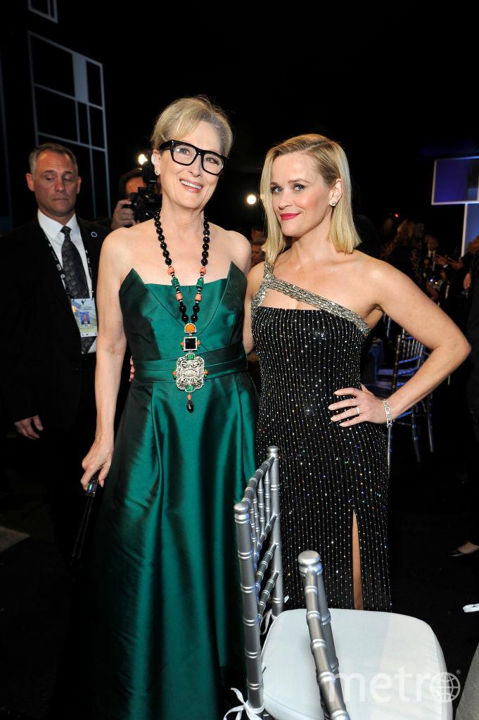 SAG Awards-2020. Мерил Стрип и Риз Уизерспун. Фото Getty