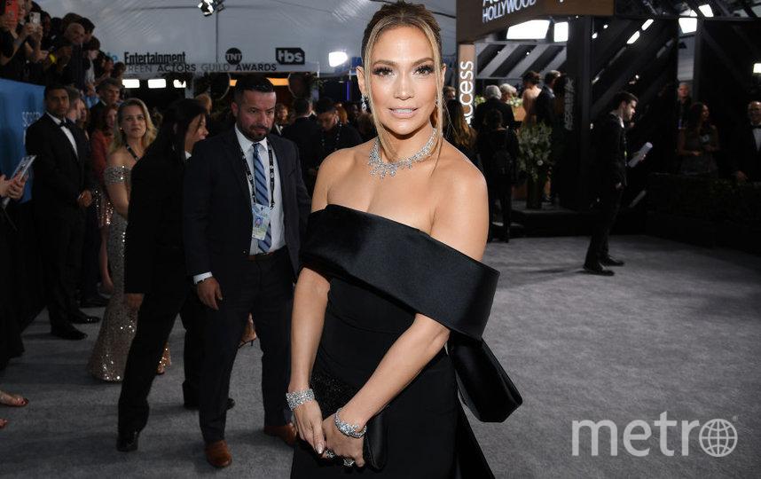 SAG Awards-2020. Дженнифер Лопес. Фото Getty