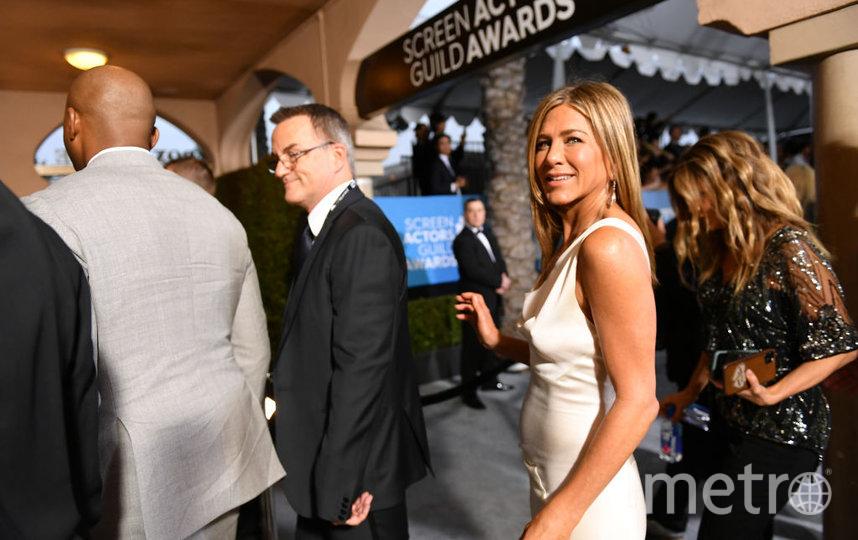 SAG Awards-2020. Джен Энистон. Фото Getty