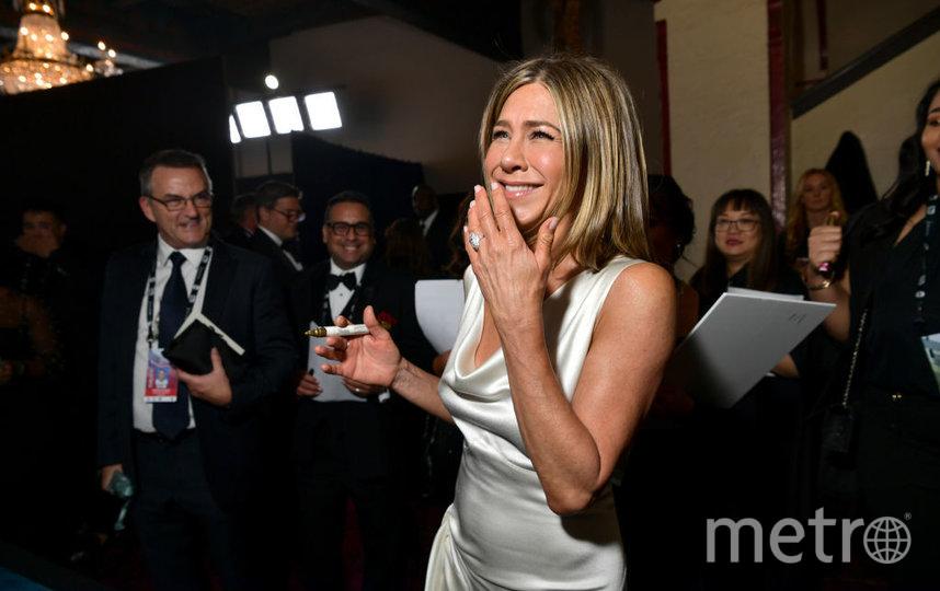 SAG Awards-2020. Дженнифер Энистон. Фото Getty