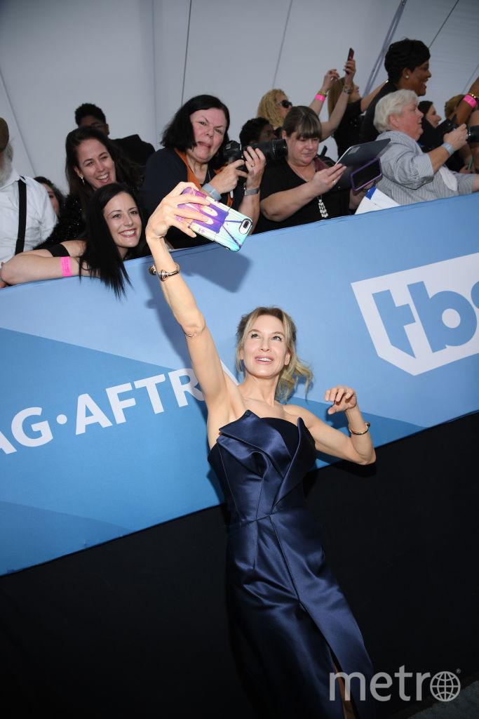 SAG Awards-2020. Рене Зеллвегер. Фото Getty