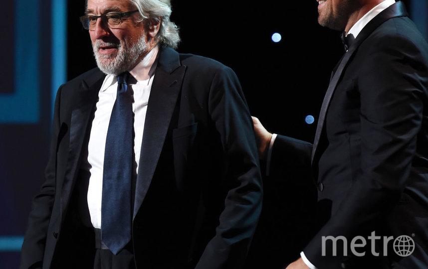 SAG Awards-2020. Роберт Де Ниро и Леонардо Ди Каприо. Фото Getty