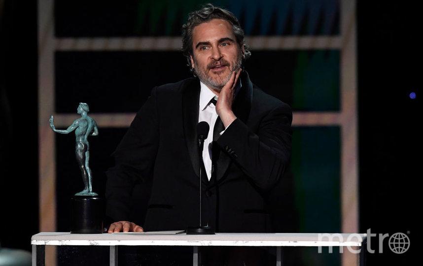 SAG Awards-2020. Хоакин Феникс. Фото Getty