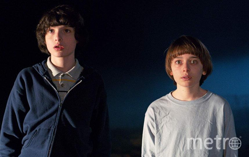 Как актёры выглядели в 2016 году, кадр из сериала. Фото netflix, kinopoisk.ru