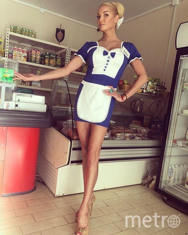 В 2019-м Волочкова снялась в клипе. Фото instagram.com/volochkova_art