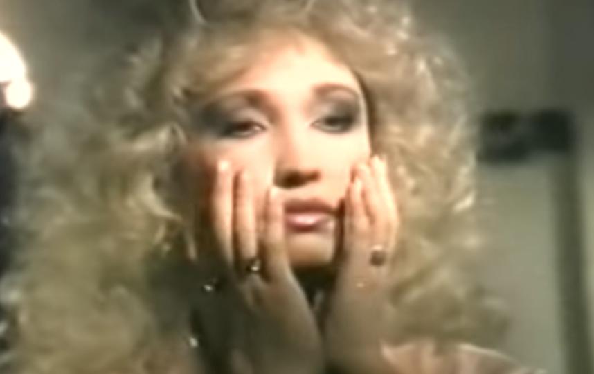 Ирина Аллегрова в молодости. Фото Скриншот Youtube