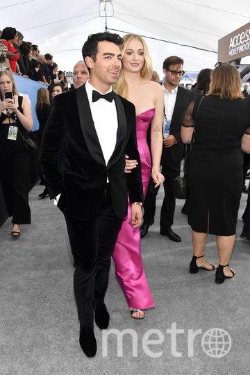 Софи Тёрнер с мужем Джо Джонасом. Фото Getty